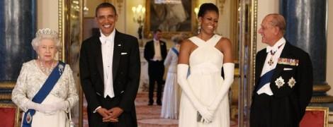 QEII+Obama